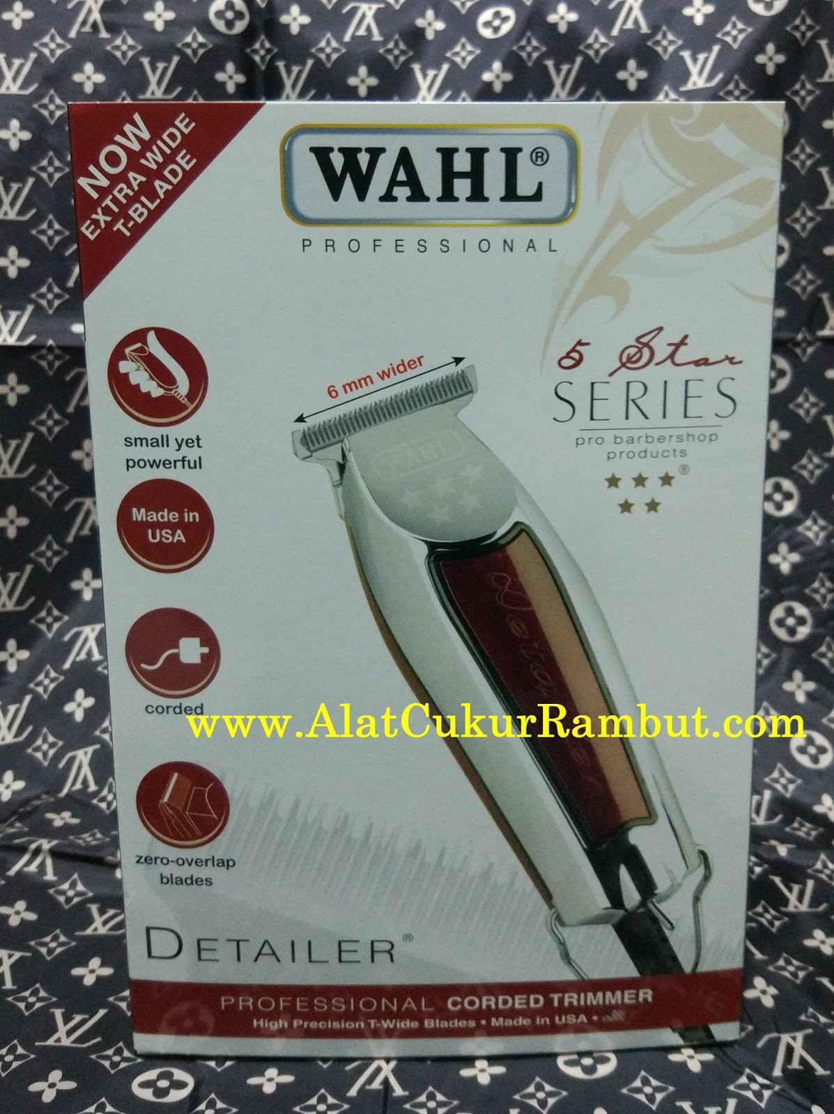 Jual Hair Trimmer   Alat Cukur Rambut Wahl Detailer Original Made In ... bd5fa928b5