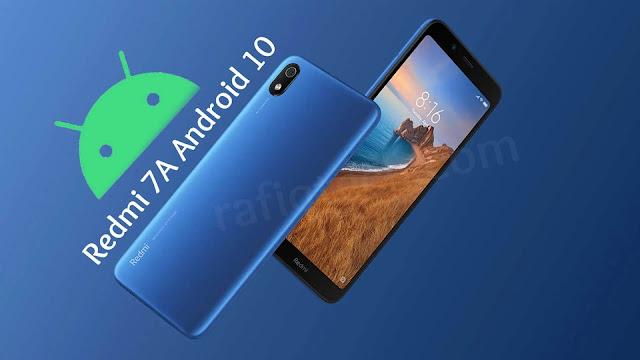 تثبيت التحديث الرسمي لنظام Android 10 على Redmi 7A