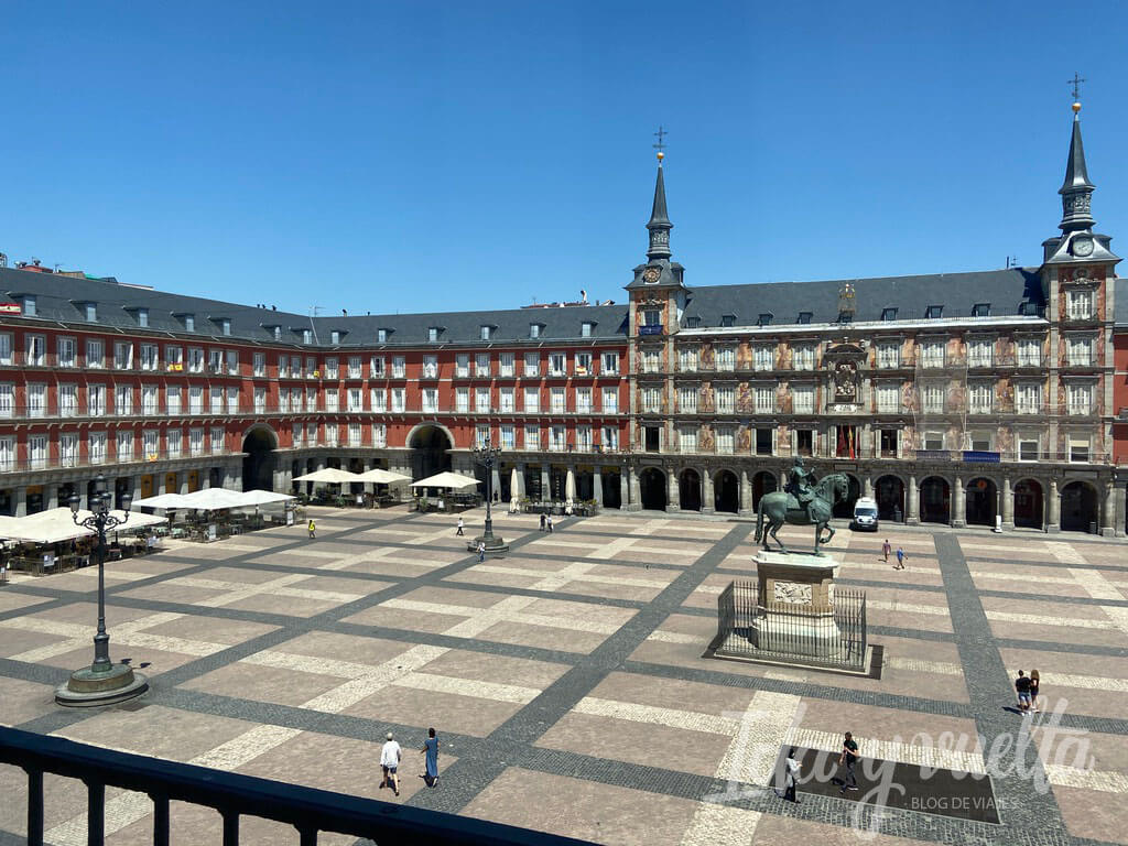 Pestana Plaza Mayor vista