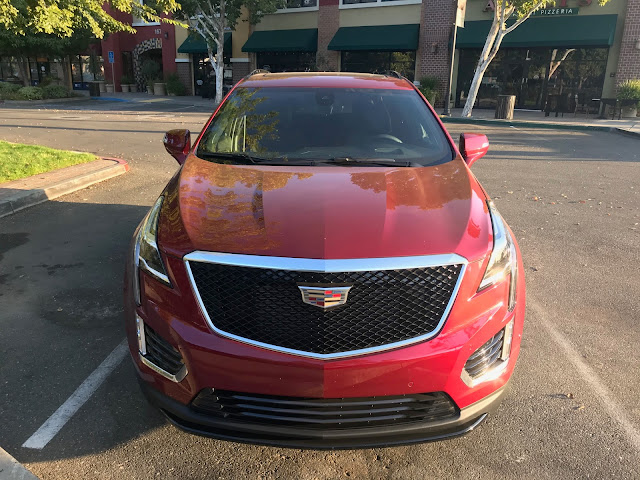 Front view of 2020 Cadillac XT5 Sport AWD