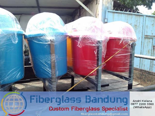 pengiriman tong sampah fiber