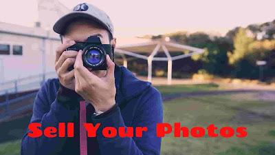 Money earn sell photos