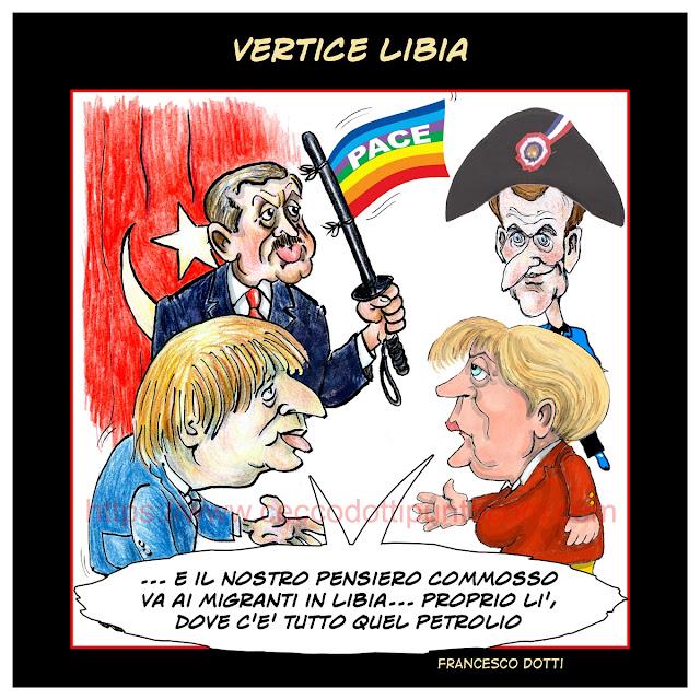 Vertice Libia senza Italia