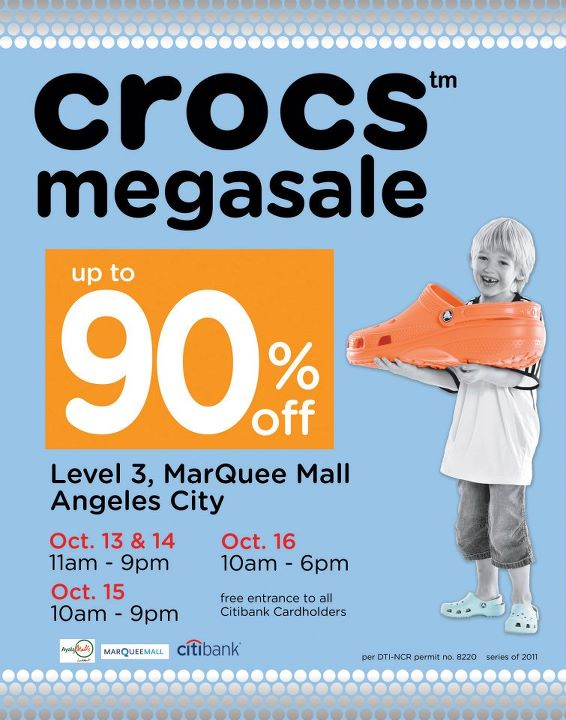 Manila Shopper Crocs Megasale At Marquee Mall