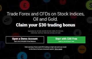 Bonus Forex Tanpa Deposit XM $30