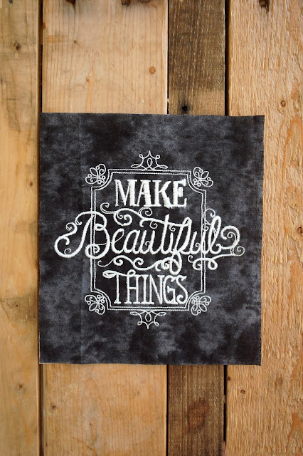 Make Beautiful Things by Urban Threads