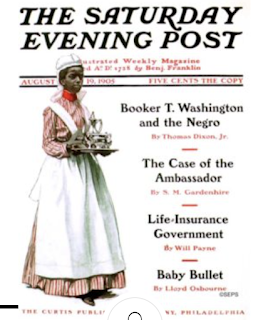 Saturday Evening Post cover with Dixon's article