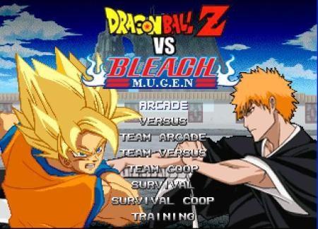 Bleach Vs Dragon Ball Z Games