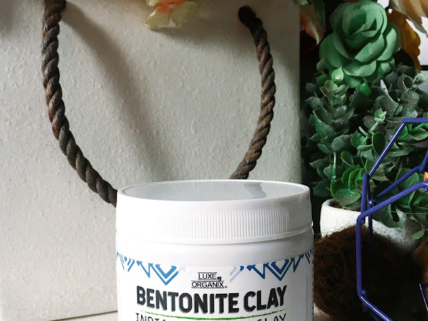 Review: Luxe Organix Bentonite Clay Indian Healing Clay