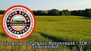 Kelompok Informasi Masyarakat ( KIM ) Independen  Desa Cindaga