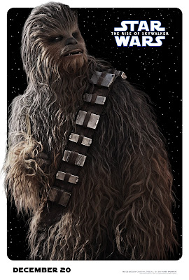Star Wars The Rise of Skywalker Chewbacca poster