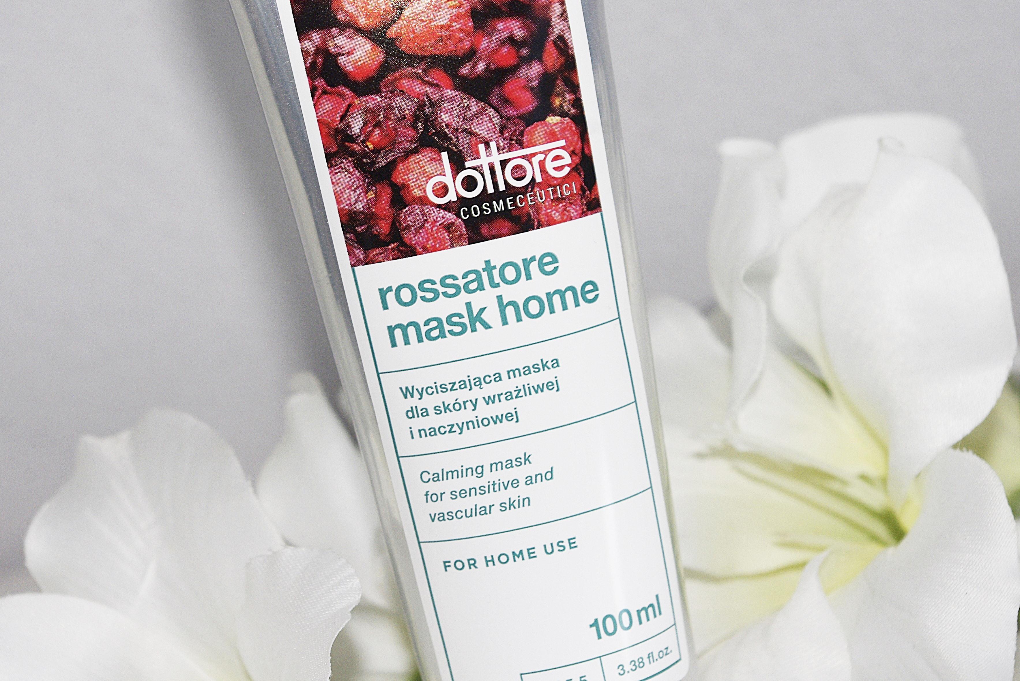 Dottore Rossatore Mask Home - wyciszająca maska dla skóry naczyniowej