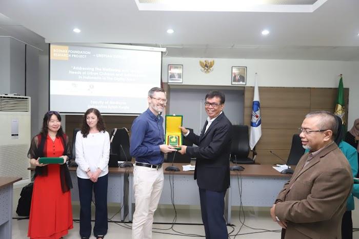 FK Unsyiah Rangkul Kampus Dunia Riset Kesehatan Anak dan Remaja