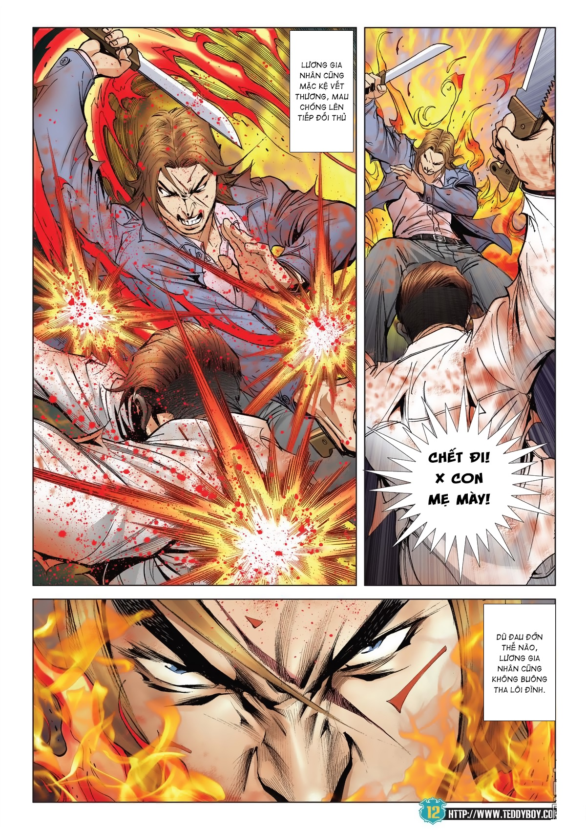 Người Trong Giang Hồ chapter 2038: thanh toán trang 11