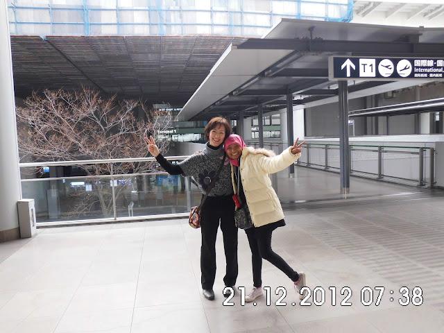 Efni dan Okasaan di Kansai (KIX) Osaka