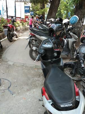 Dishub Medan Lemah, Area Pedestrian Jadi Lahan Parkir