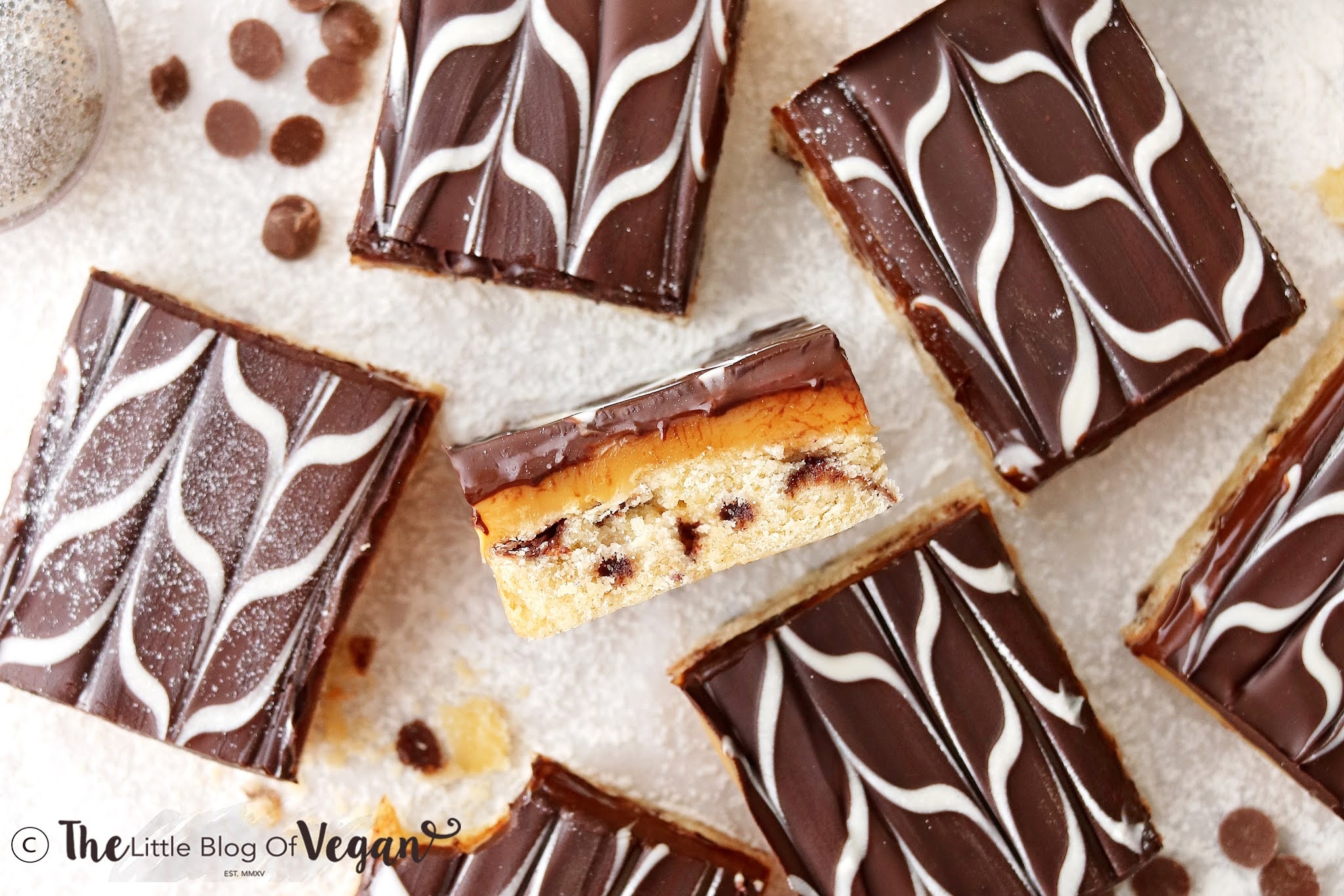 Easy Millionaires Cookie Bars