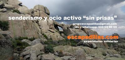 senderismo y ocio activo - escapadillas - experiencias solidarias