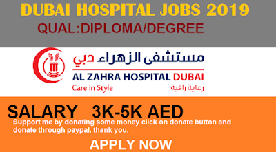 pharmacist jobs in Dubai, nursing jobs in Dubai, Dubai hospital jobs, Dubai hospital career