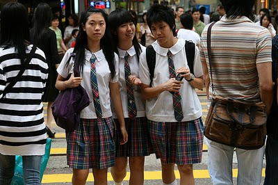 hong kong school girl nude