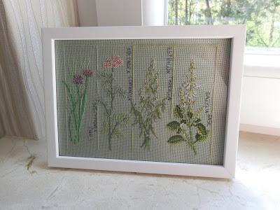 hafty z ziołami