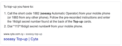 instructions for soeasy topup