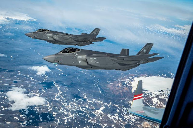 This is how modern fighter aircraft help NATO secure the skies