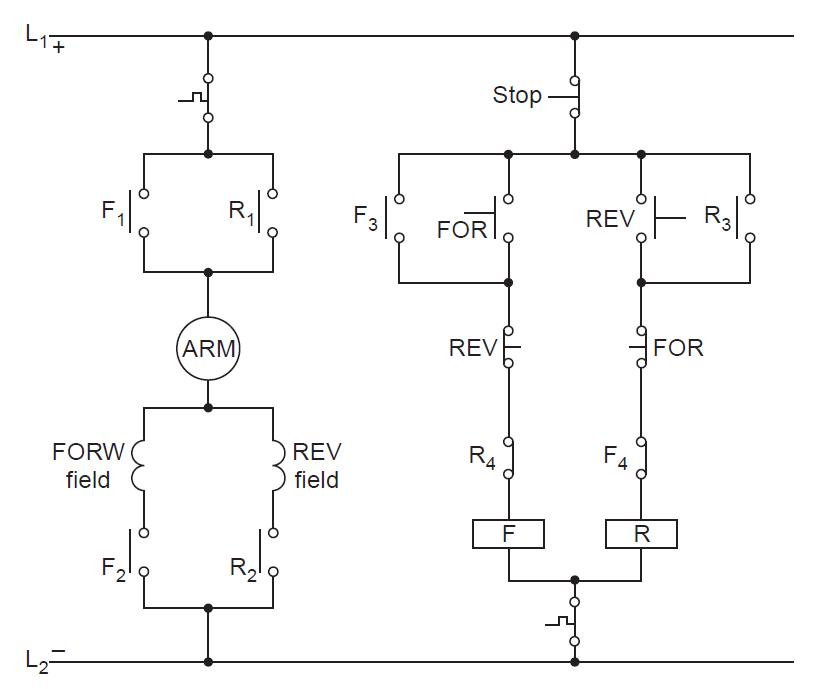 Reversing Direction Of Rotation Of Universal Motor