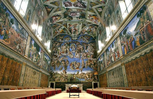 O que fazer em Roma - Capela Sistina Vaticano