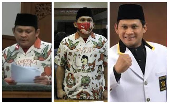 Didik Hermawan dicopot dari jabatan Sekretaris Fraksi PKS DPRD Solo karena mengenakan baju khas pendukung Gibran Rakabuming Raka di ajang Pilkada Solo saat Sidang Paripurna, Rabu (29/7). Apa kata Gibran?