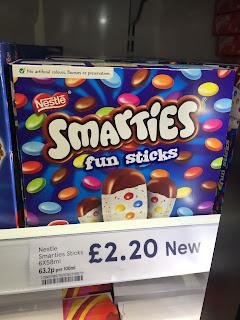 Smarties Fun Sticks