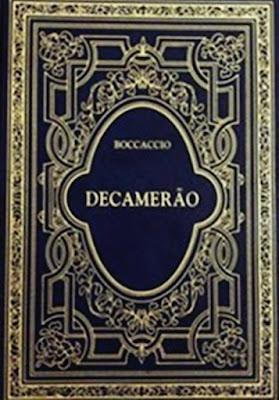 Capa do livro Decameron de Boccacio, baixe em pdf