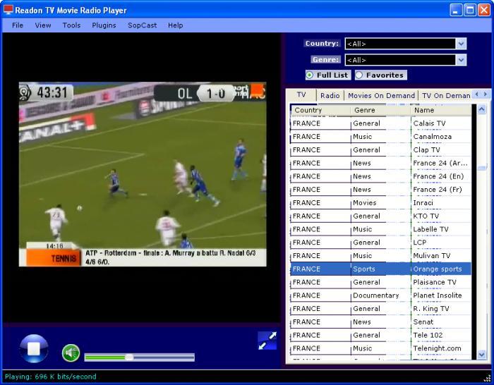 PLAYER MOVIE RADIO GRATUIT READON 7.3.0.0 TV TÉLÉCHARGER