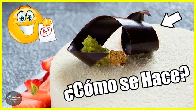 💜DECORACIONES con CHOCOLATE | Espirales de Chocolate 🌀| ¿Cómo se Hacen?