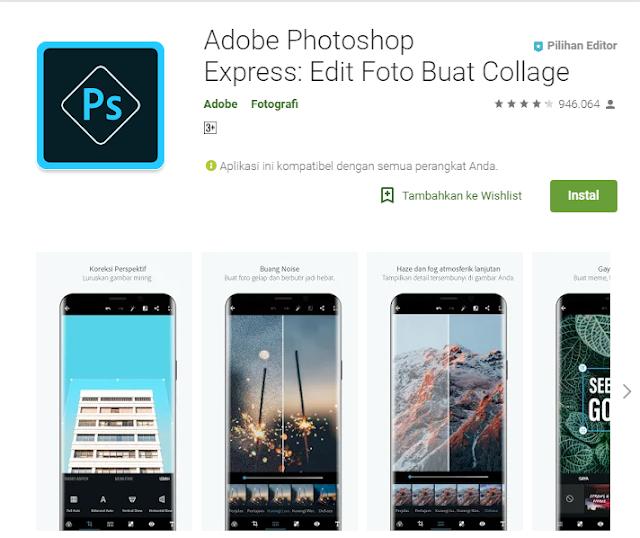 Review aplikasi android edit photo