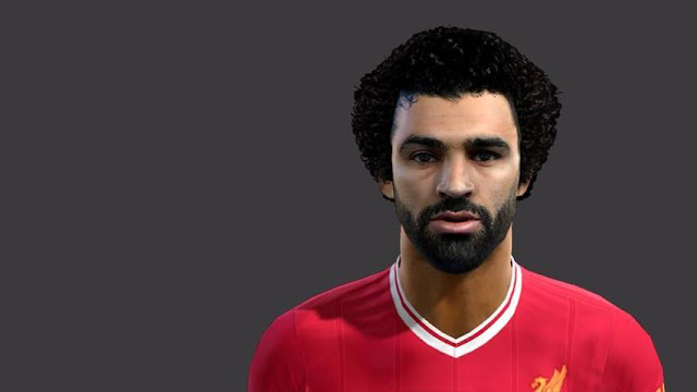 Face Mohamed Salah PES 2013