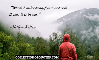 Helen Keller Quotes on Happiness, Frienship,