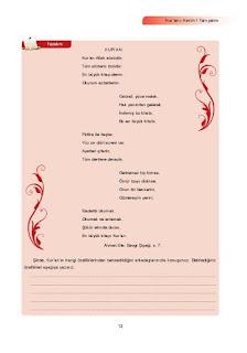 7. Sınıf Kuranı Kerim Ders Kitabı Cevapları Ata Yayınları Sayfa 13