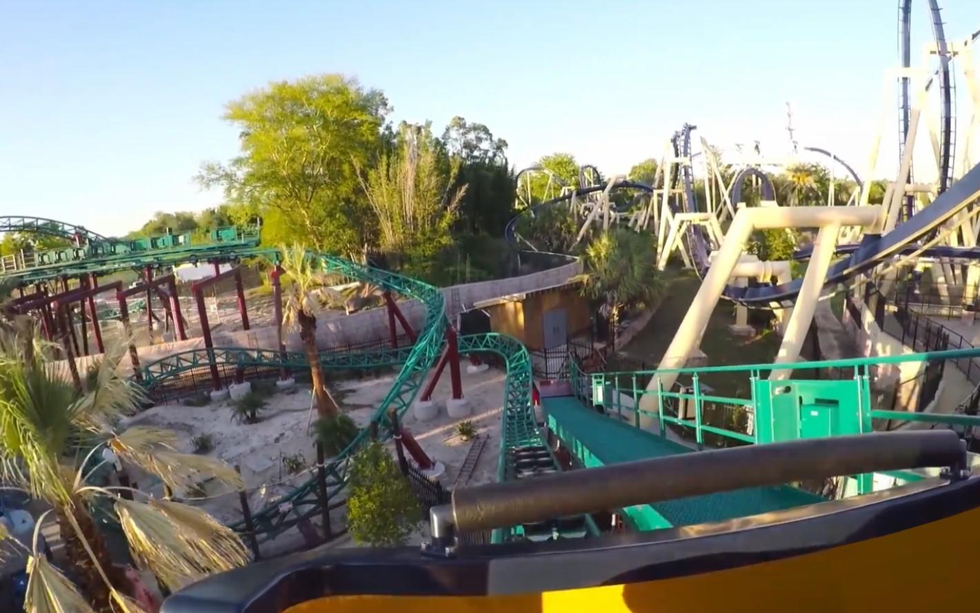 Parks Trip Cobra S Curse S Offre Une Vid O Onride Busch