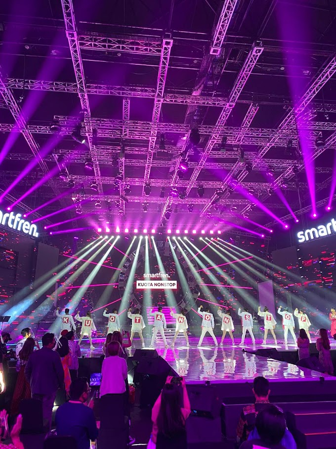 Smartfren WOW Virtual Concert,  Hadirkan Inovasi Teknologi Baru dalam Konser Musik