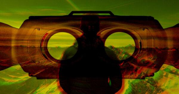 حياة ألعاب الفيديو.. الحياة من منظور الشخص الثالث بنظارة الواقع الافتراضي وكاميرا على الظهر