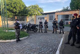 4º BPM realiza operação policial em seis cidades da região