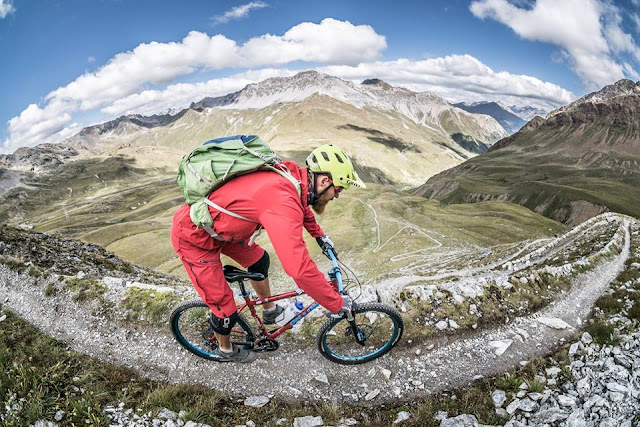 Vinschgau Mountainbike Trail Piz Umbrail
