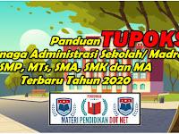 Panduan Tupoksi Tenaga Administrasi Sekolah/ Madrasah SMP, MTs, SMA, SMK dan MA Terbaru Tahun 2020