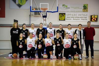 ΜΓΣ Απόλλων Καλαμαριάς - ΣΦΚ Πιερικός Αρχέλαος 40-43