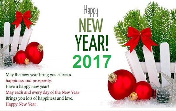 Happy New Year Greetings Cards | New Year Greetings 2017