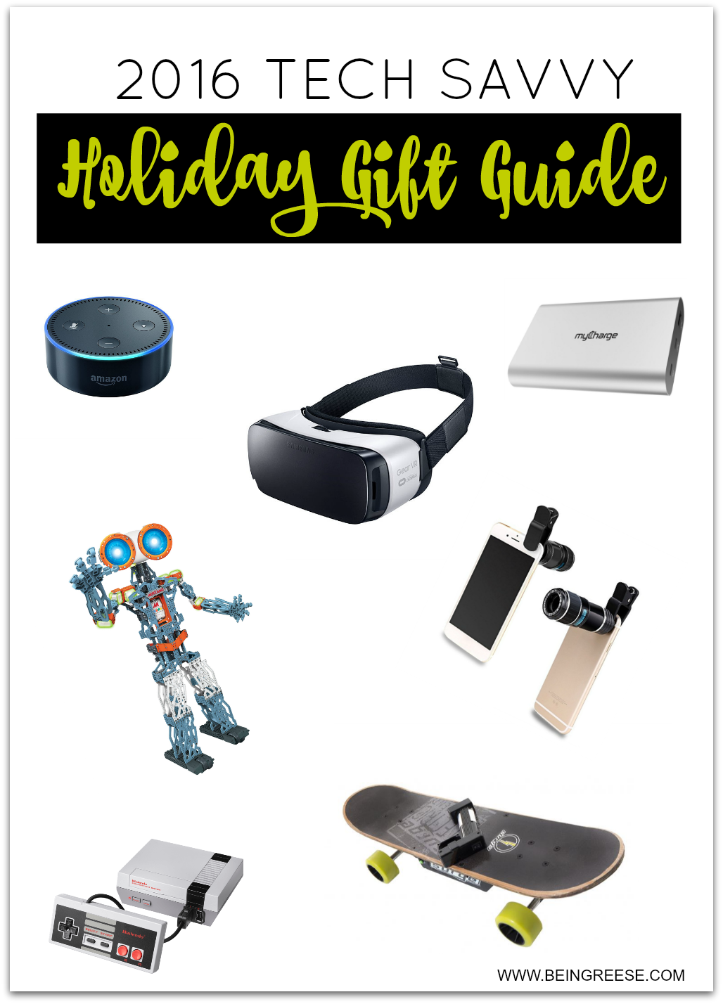 This gift guide was created with the tech savvy family in mind. Check out these tech gift ideas for everyone in the family.