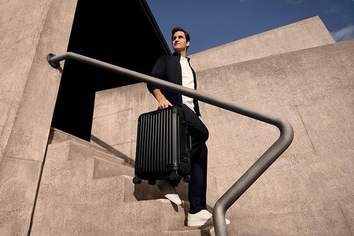 Roger Federer - Rimowa's Never Still campaign