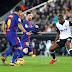 En un partido polémico, Barcelona empató 1-1 ante su escolta Valencia y mantiene la diferencia