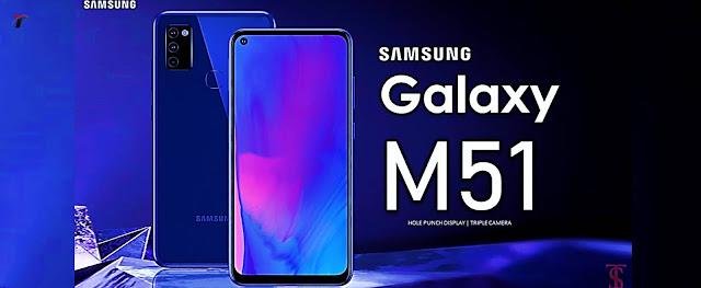 Samsung Galaxy M51 Launch Soon